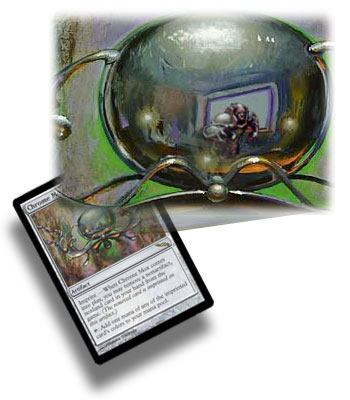 karn golem in mox magic - easter egg