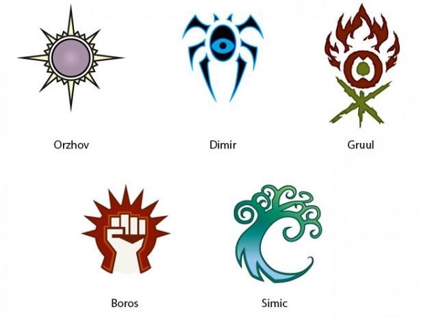 symbole gildii gtc
