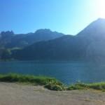widoczek na jezioro