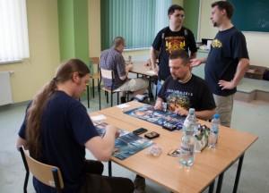Zdjęcia z gier ilustrują drugi, poranny turniej z soboty