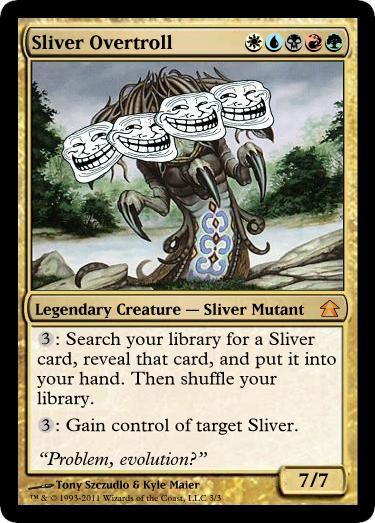 sliver_overtroll mtg, magic, magictcg