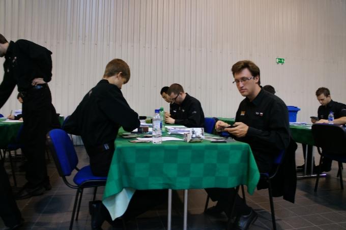 Sędziowie na GP Warsaw