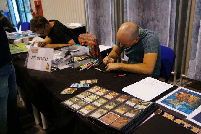 Jeff Miracola at work - magic gp