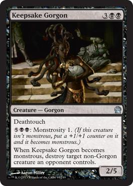keepsake gorgon monstrosity magic