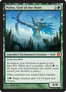 nylea, god of the hunt magic god
