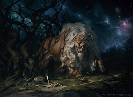 Fleecemane Lion by Slavomir Maniak