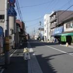 uliczka w bezpośrednim sąsiedztwie kompleksu Świątynnego