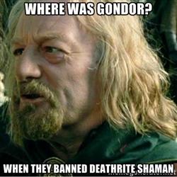 banned shaman