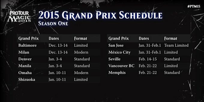 GP 2015 Schedule1
