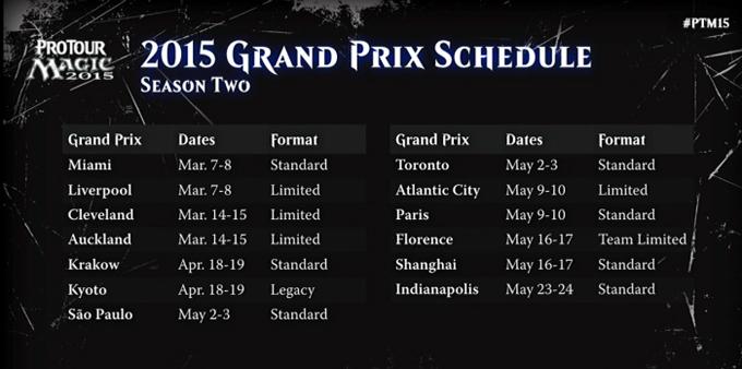 GP 2015 Schedule2
