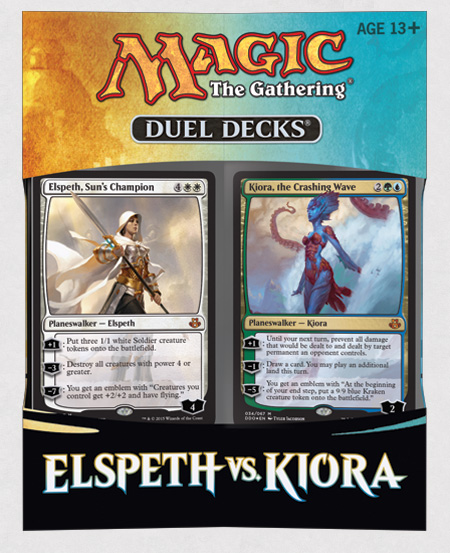 duel deck  - Kiora vs Elspeth