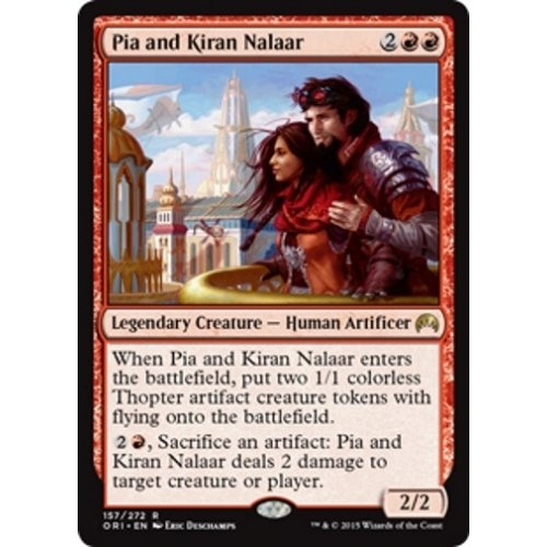 Pia i Kiran Nalaar, prerelease magic origins