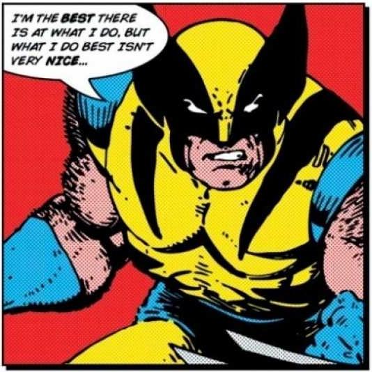 Wolverine burn