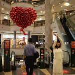 W galerii handlowej Taipei 101