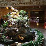 Grand Hotel - rzeźba smoka