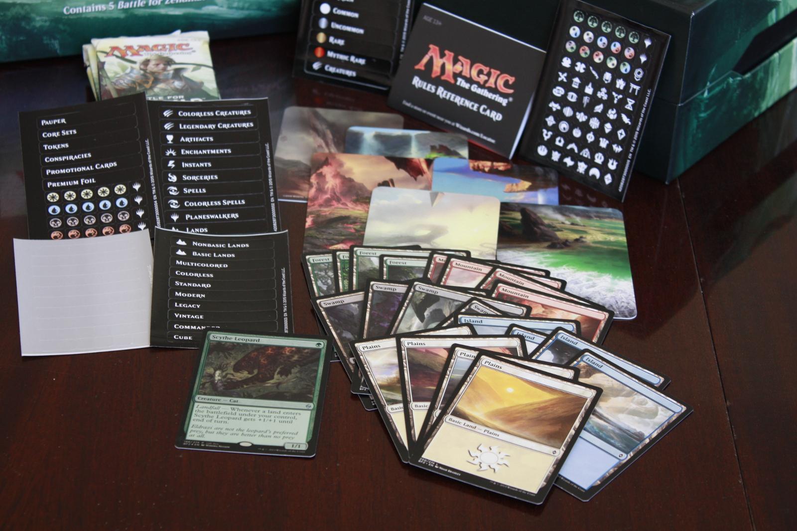 Battle for Zendikar Holiday Gift Box 003
