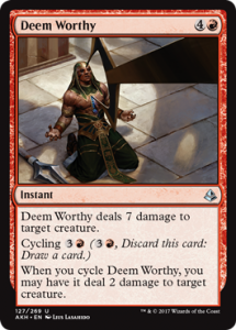 Deem Worthy (Amonkhet)