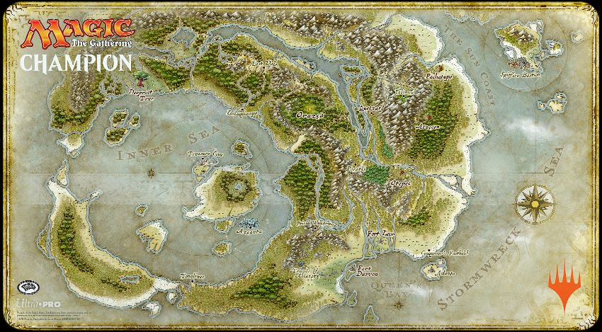 Rivals of Ixalan - mapa krainy
