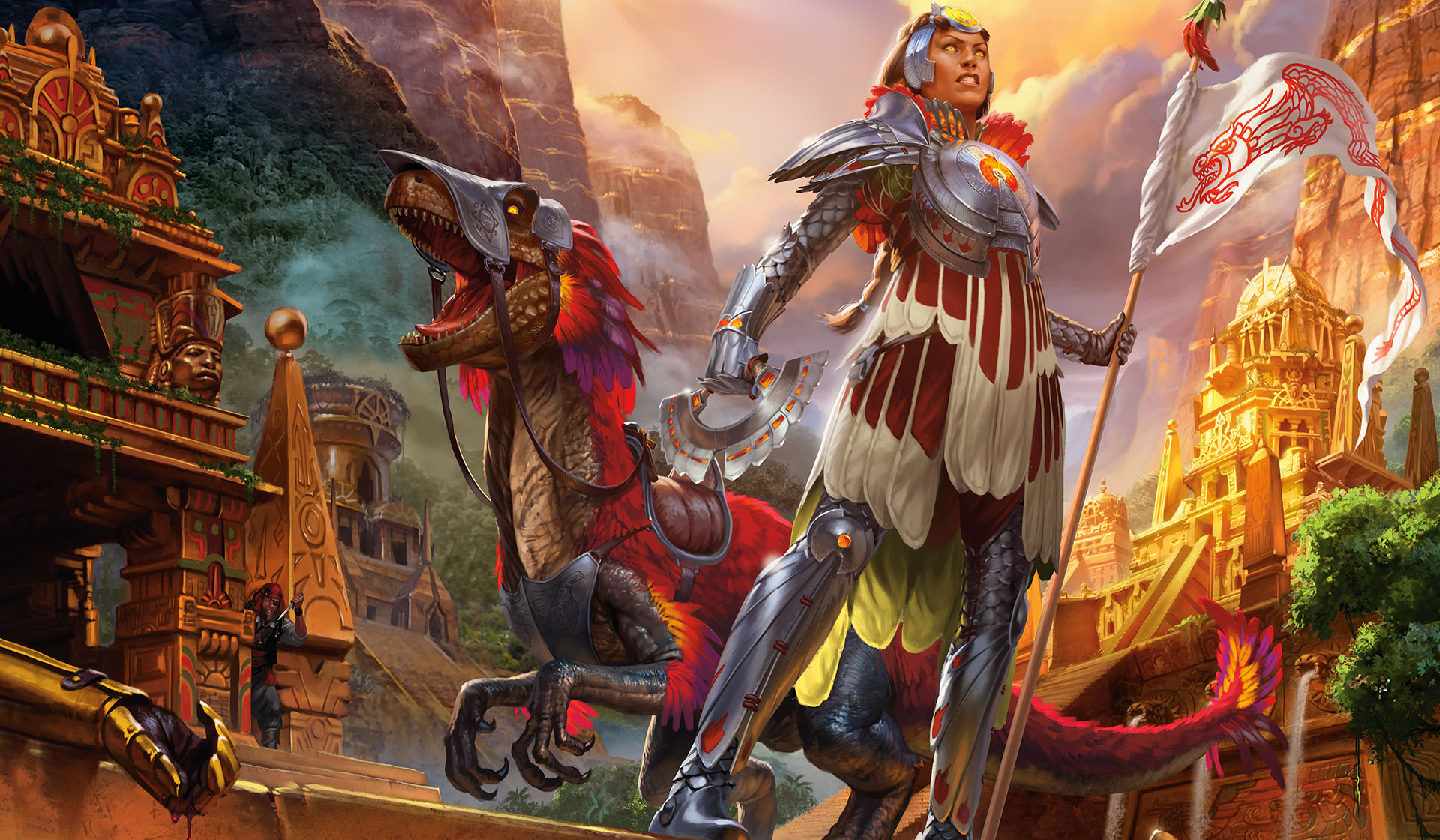 Rivals of Ixalan graphics, mtg