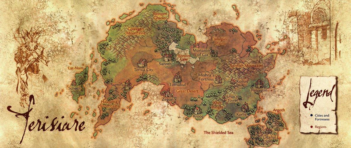 mapa terisiare - wojna braci