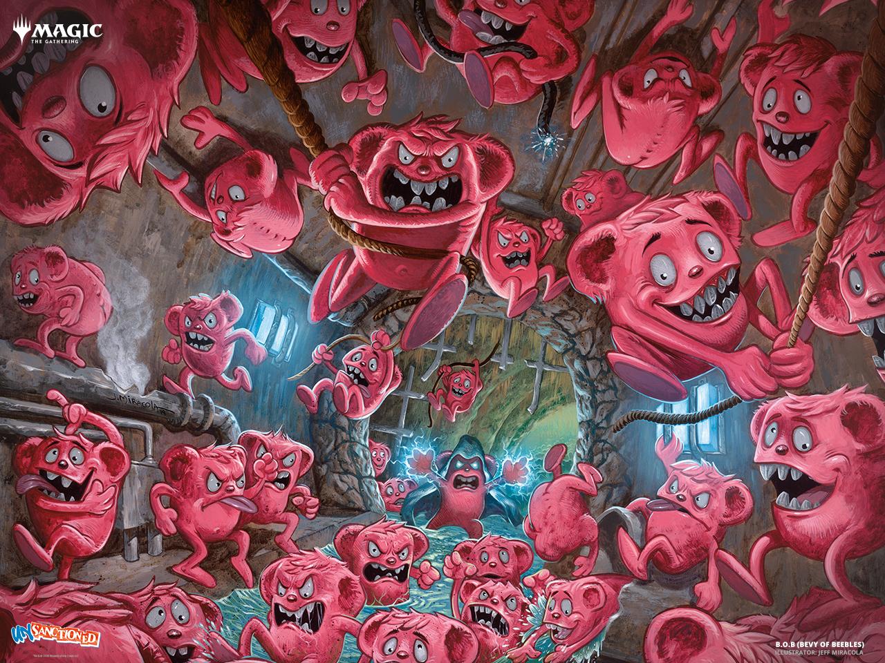 bevy of beebles, mtg, wallpaper 2020