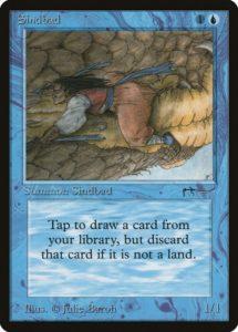 Sindbad, Magic: The Gathering, Mtg