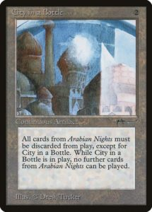 City in a Bottle, mtg, Magic: The Gathering, magic lore