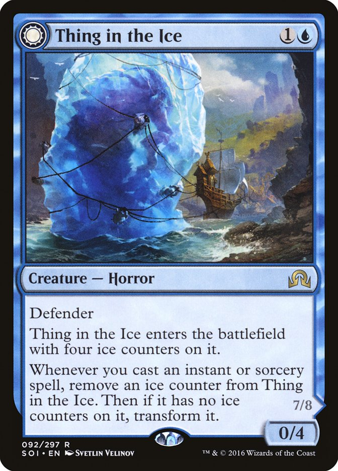 Rimewind i kriomanci, Magic Lore - Thing in the Ice